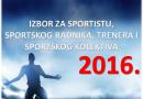 Počinje predstavljanje kandidata za najbolje u sportu u 2016 god.u opštini Bogatić na Radio Nešvilu